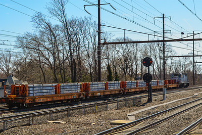 Amtrak Work Train at Rahway