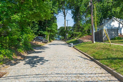 Cobblestone Street in River Edge, New Jersey