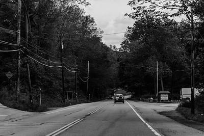Northbound Route 9