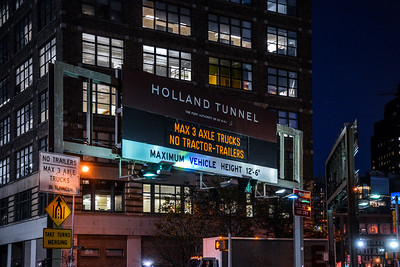 Holland Tunnel Sign