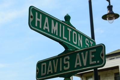 Hamilton Street & Davis Ave