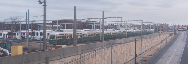 Parked Trolleys