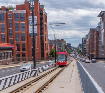 Approaching Streetcar