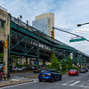 The Green Monster known as Queensboro Plaza