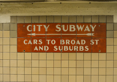City Subway to the Left