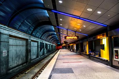 Metro or Light Rail Stations