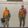 Mosaic Portraits at 72nd Street