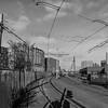 Curving trolley Tracks