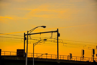 Elevated Sunset Tracks