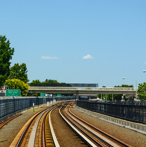Airtrain Tracks at JFK Airport