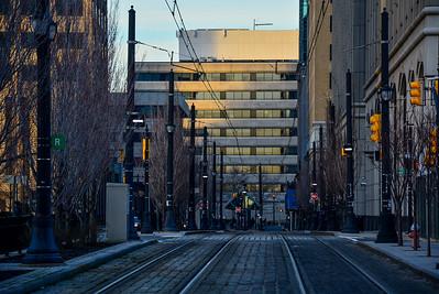 Hudson Street Light Rail