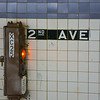 Caution at 2nd Avenue