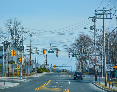 Route 23 & Route 94 in Hamburg,New Jersey