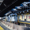Bay Head Express arriving at Newark Penn