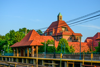 Early Evening at Forest Hills Station