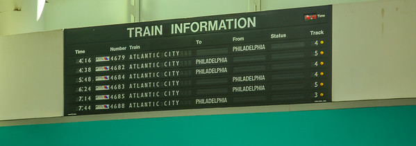 Atlantic City Terminal Solari Board