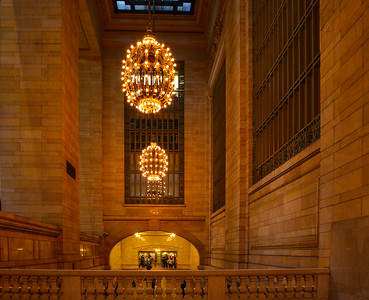 2 Grand Central Chandeliers