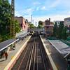 Bayside Station Tracks
