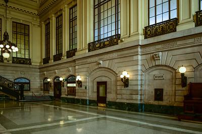 Hoboken Terminal Waiting room