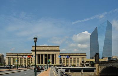 30th Street Station & the Cira Centre