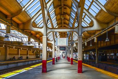Empty Platforms at Newark Penn