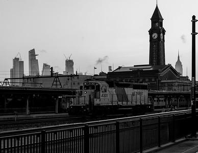 Hudson Yards + #4301 + Hoboken Terminal + Empire State