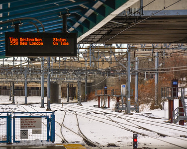 Frozen Northeast Corridor