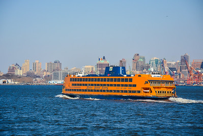 Northbound Staten Island Ferry