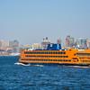 Northbound Staten Island Ferry