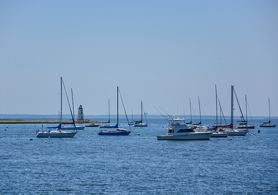 Boats on Black Rock Harbor