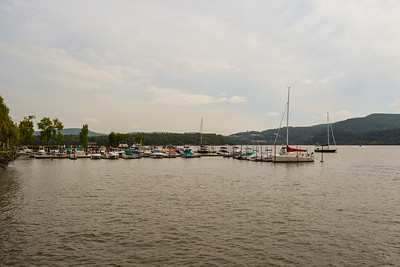 Boats docked in Cold Spring