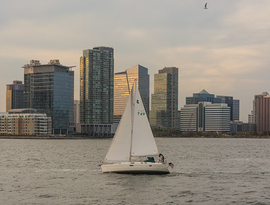 Sail Boats on the Hudson River