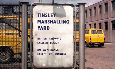 TINSLEY MARSHALLING YARD