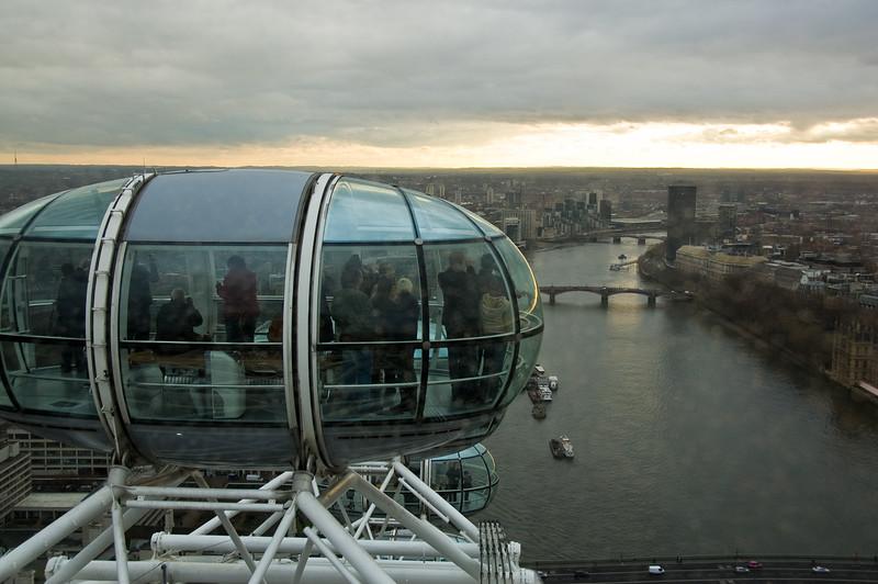 Londres desde el ojo