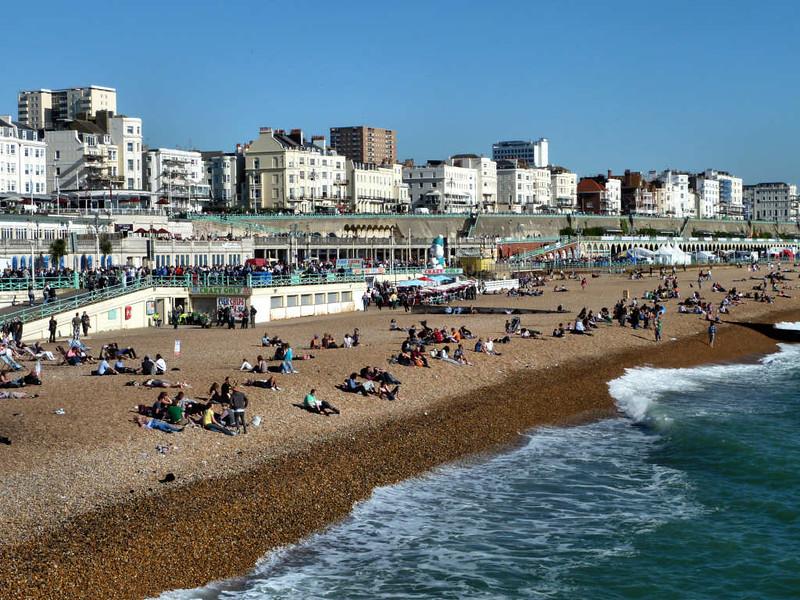 Praia de Brighton