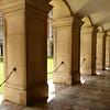 Detalhe no Palácio Hampton Court