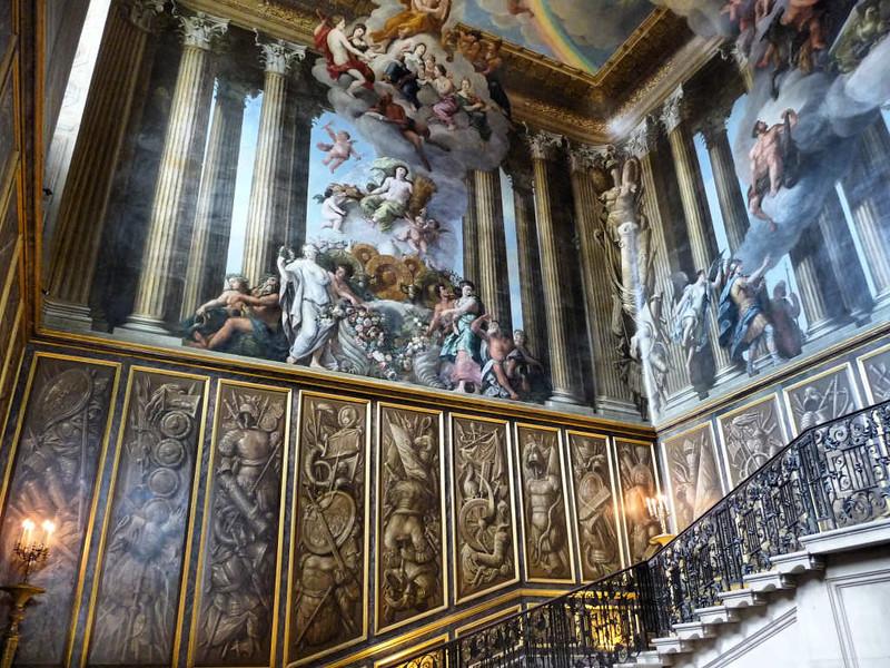 Interior do Palácio Hampton Court