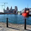 Doca em Liverpool