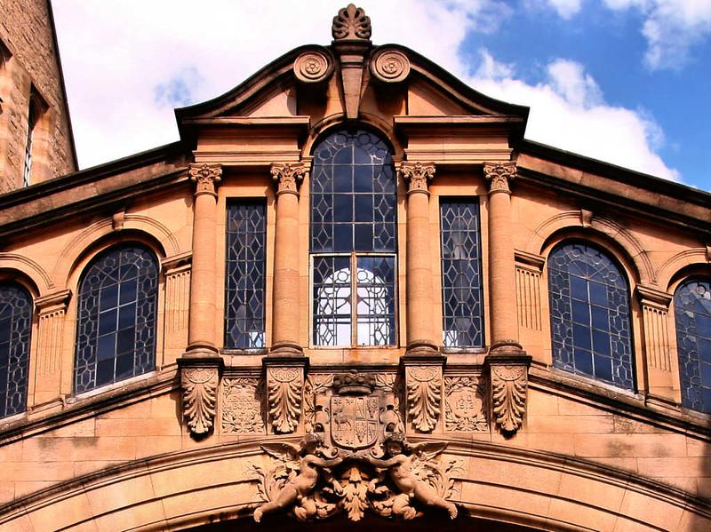 Detalhes Arquitetônicos de Oxford