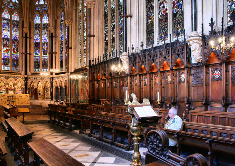 Interior da Capela do Exeter College