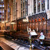 Interior da Capela do Exeter College