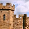 Detalhe Arquitetônico do Castelo de Warwick
