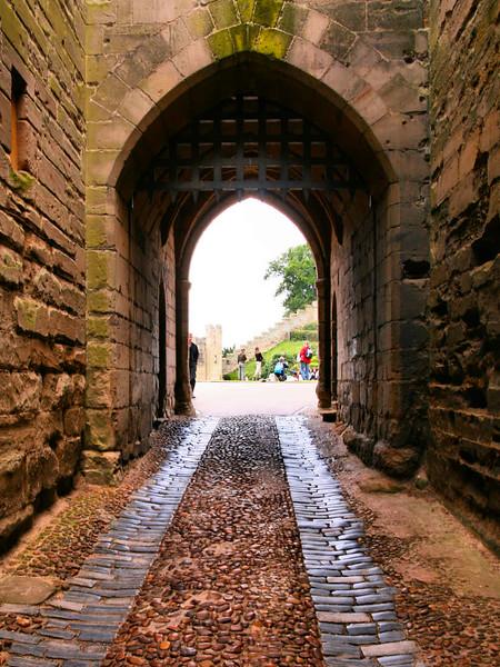 Entrada do Castelo de Warwick