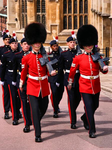 Troca da Guarda, Castelo de Windsor