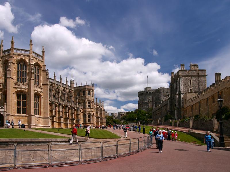 Área Interna do Castelo de Windsor