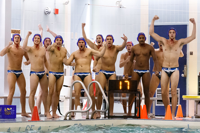 Men's Water Polo / St. Francis Brooklyn Terriers were defeated by Harvard 15-14 during a Northeast Water Polo Conference match held at SFC Aquatic Center, Brooklyn – New York on September 29, 2018. (Photo Credit: Joseph Gomez / Josport)