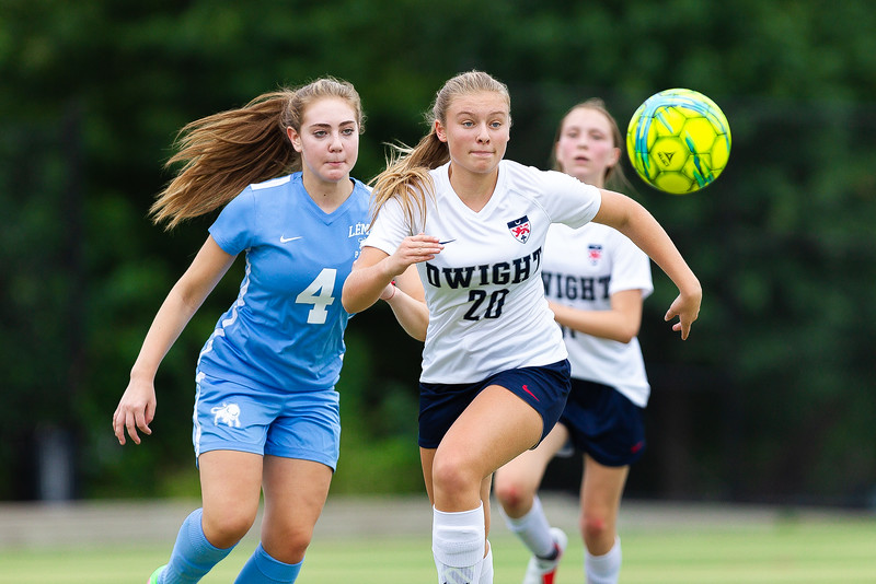 Girls Varsity Soccer / Leman Manhattan Preparatory Vs Dwight School at Calvert Vaux, Brooklyn – NY.