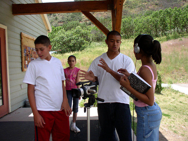 latino youth filmmaking project