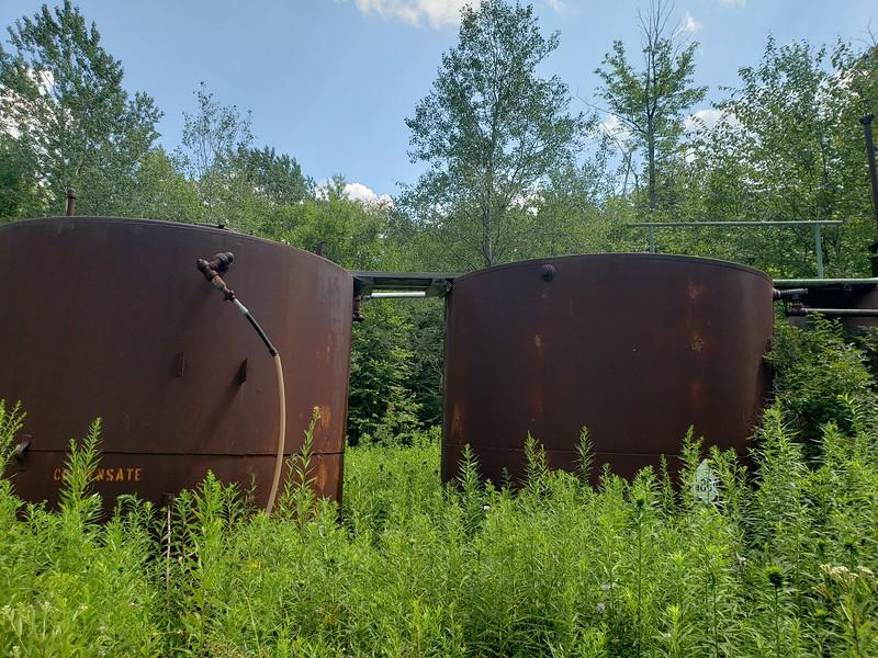 Condensate Tank On site