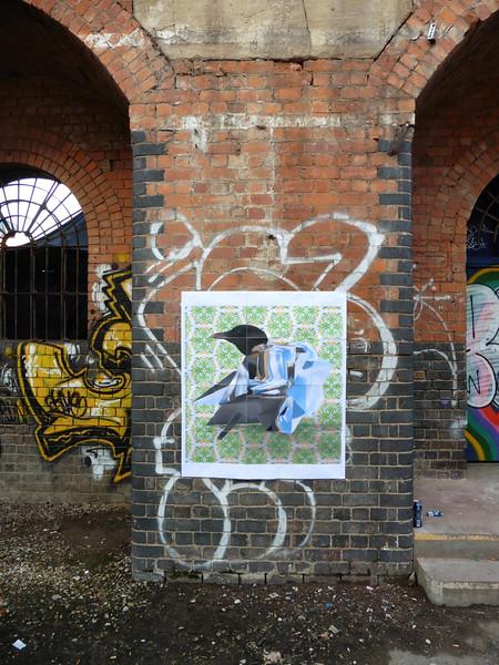 Chromium bird - Shoreditch - London -2017